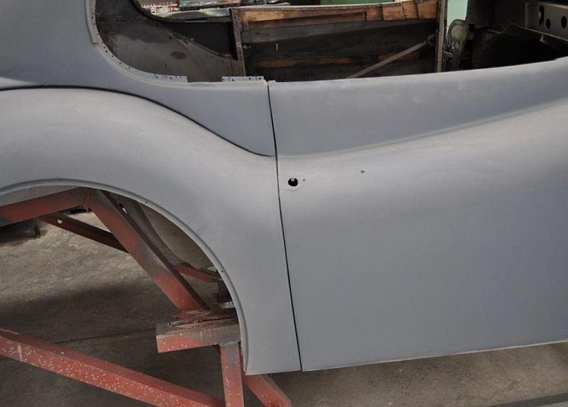 A Long Road Xk140 Fhc Bodywork Restoration Jaguar Car