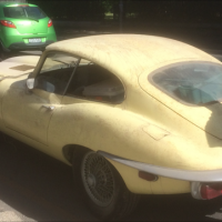 Jaguar Series II E-Type - Complete but partly dismantled