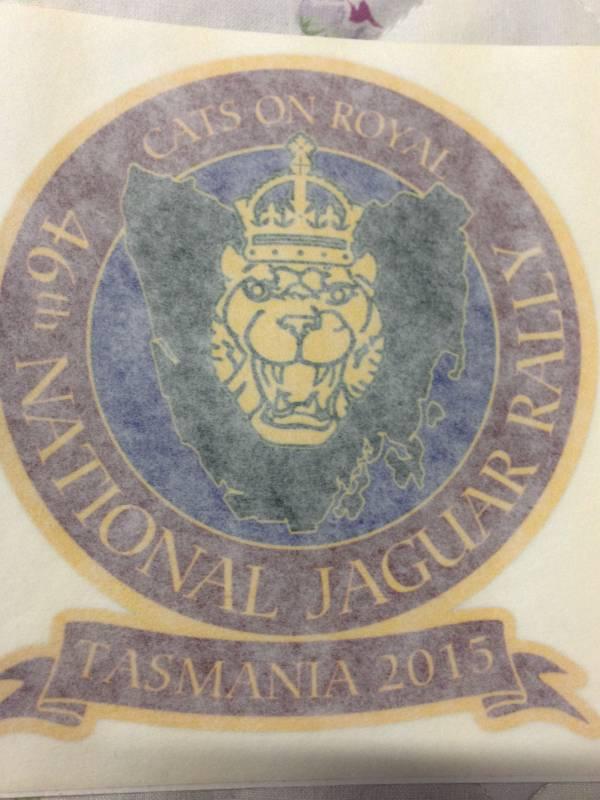 window stickers - national rally 2015 - jaguar car club of